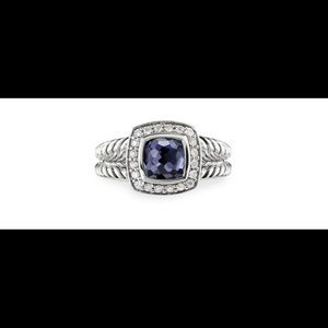 David Yurman Petite Albion Black Orchid Ring